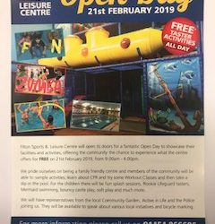 Filton Sports and Leisure Centre Open Day 21st February 2019